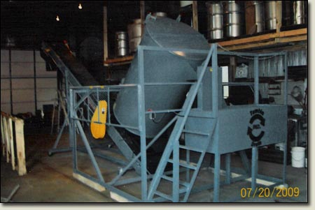 600 Gallon Mixer for mixing oil and foam